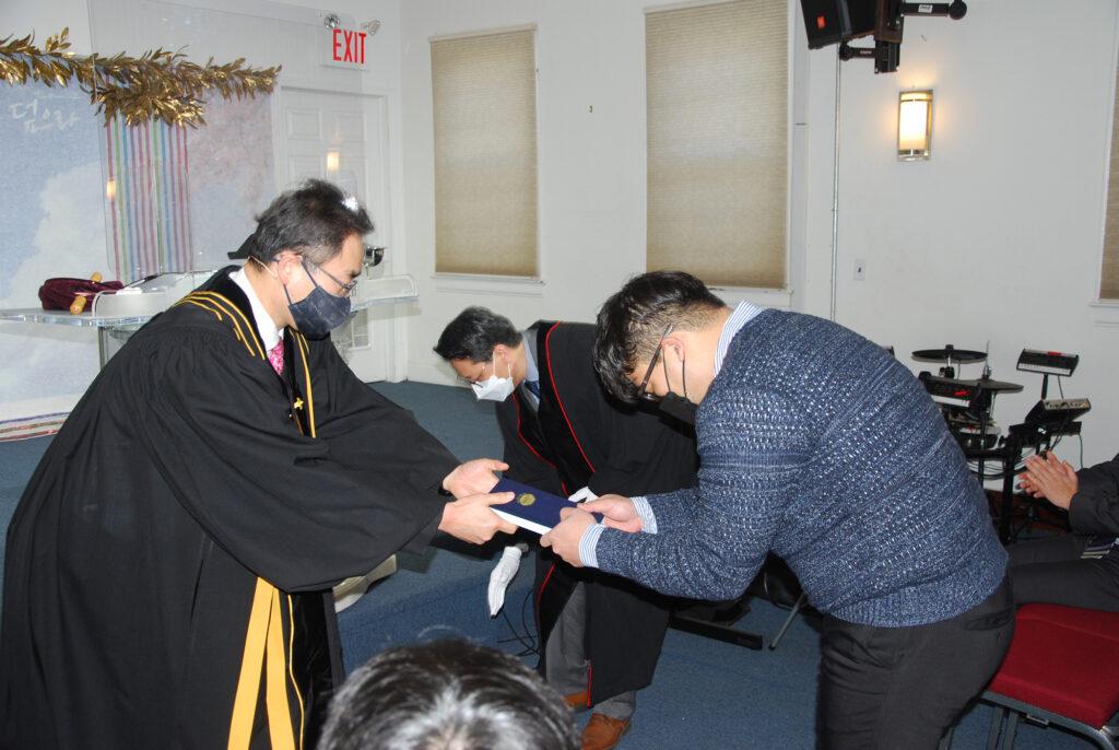 입교 및 세례식